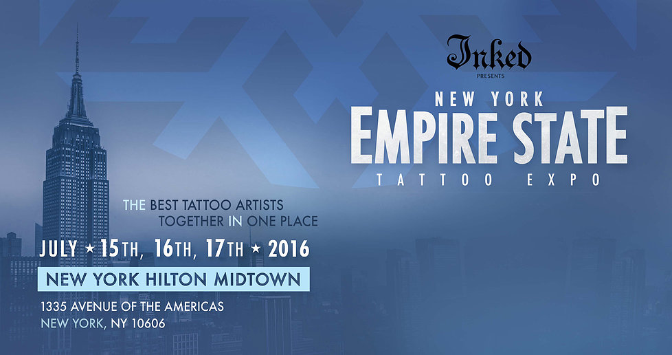 Empire State Tattoo Expo – NYC July 15-17